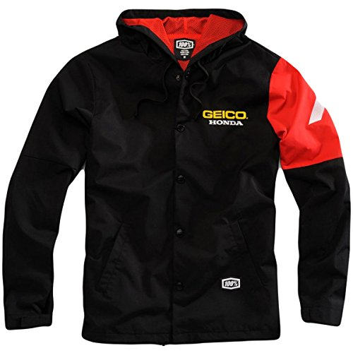 100-percent-honda-black-geico-flux-jacket