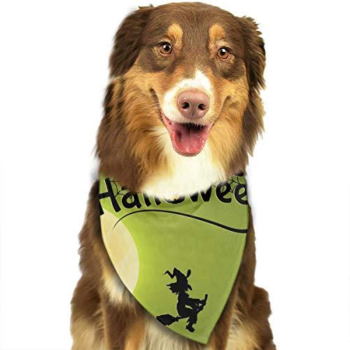 Preisvergleich Produktbild Wfispiy Hund Bandana Haustier Schal Halloween Kürbis Classic Pet Bandana Haustier Halsbänder für Hund Katze eine Größe