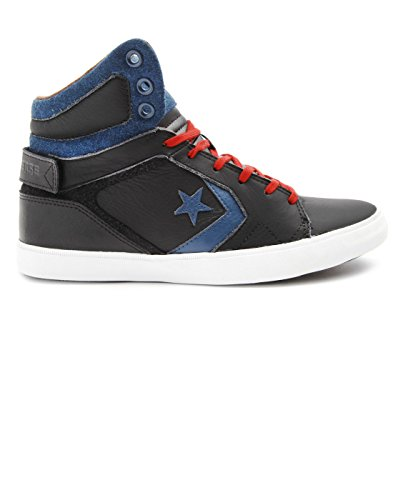Converse As12 Americ Mid, Baskets mode mixte adulte Noir