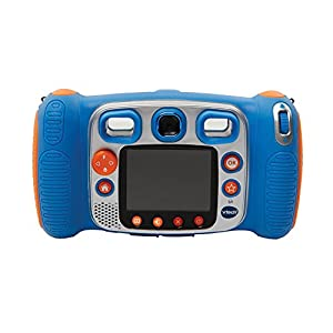 Vtech-Kidizoom-Duo-50-Digitale-Kamera-fr-Kinder-5-MP-Farbdisplay-2-Objektive-Pink-Englische-Version-blau
