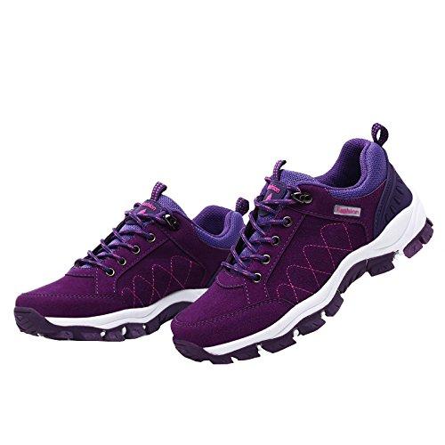 Ben Sports Scarpe da escursionismo Stivali Calzature da escursionismo Donna Viola