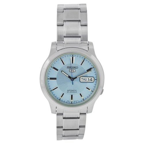 Seiko Damen-Armbanduhr Analog Automatik Edelstahl - Automatik Damen 5 Uhr Seiko