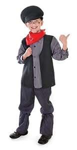Chimney Sweep victorien Childs Fancy Dress Costume pour enfant Taille L 146 cm