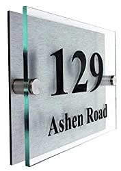 Premier House Number Plaque|Giving young people with disabilities employment|FONT CHOICE|10 year Guarantee