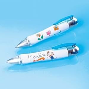 Vitrine Magique - Les 2 stylos à bille personnalisables
