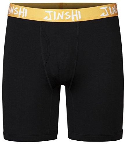 jinshi-boxer-da-uomo-lunghi-traspirante-boxershort-intimo-con-il-borsellino-trunk-nero-taglia-l