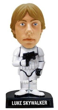 Star Wars - Luke Skywalker als Stormtrooper Exclusive Comic Con 2008 18cm Wackelkopffigur