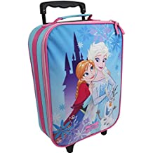 0b9bffeb93 Eiskönigin Valigia per Bambini Valigia Trolley Bagaglio a Mano Borsa Disney Frozen  Anna Elsa 8103