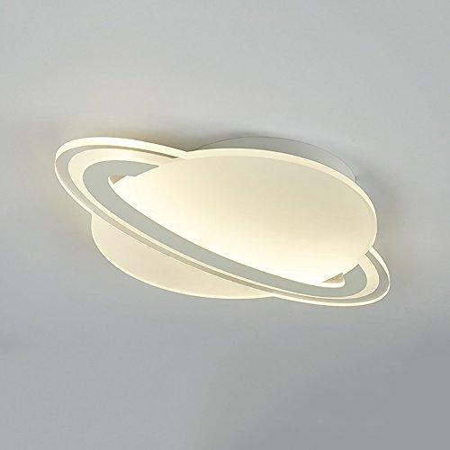 (SZFGYJ Kind Raum Licht LED Planeten Deckenlampen Schützen Augen Acryl Modernen Cartoon Schlafzimmer Junge Zimmer Dekoration Beleuchtung Leuchte 220V 25W,45 * 30CM)