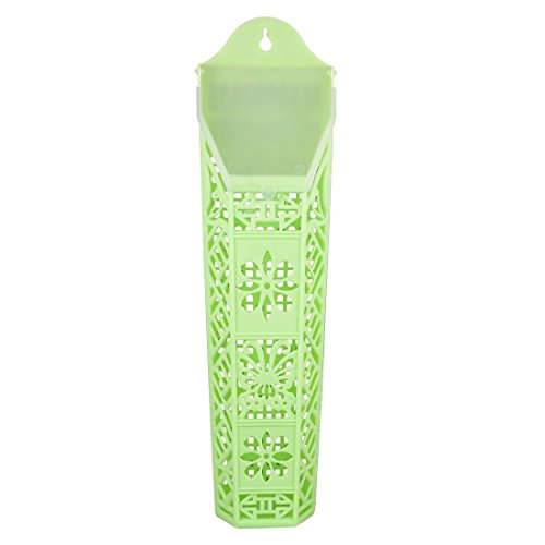 Fleur en plastique Baguettes Cuillère Holder Cage Green Light