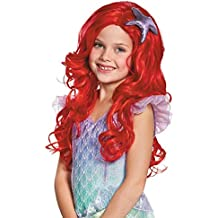 Disguise Ariel Ultra Prestige Child Disney Princess The Little Mermaid Wig, One Size Child,