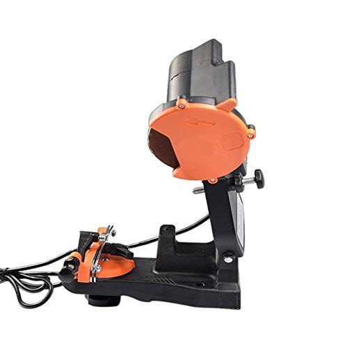 CHOULI Dauerhafte elektrische Kettenschleifmaschine für Kettensägen-Zubehör YJPJ055050 Orange