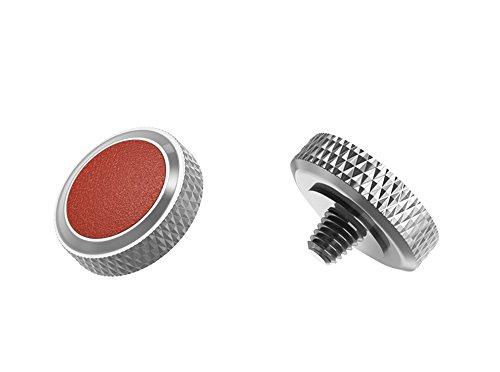 Ergonomischer Auslöser *Kupfer & Kunstleder* Auslöseknopf Soft Release Button für Fuji Fujifilm xt20 x 100f xt10 x-t2 x-pro2 x-pro1 X 100 X100s x100t x30 x 20 x10 x-e3 x-e2s (SRB-GR Brown)