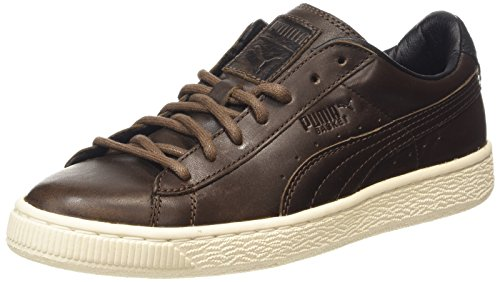 erwachsene Sneakers Puma whisper 04 Citi Basket Unisex Series White Braun carafe wZOTUqI