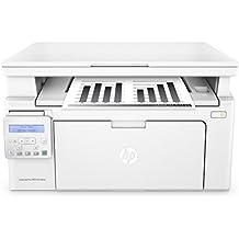 HP LaserJet Pro M130nw Laserdrucker Multifunktionsgerät (Drucker, Scanner, Kopierer, WLAN, LAN, Apple Airprint, HP ePrint, JetIntelligence, USB, 600 x 600 dpi) weiß