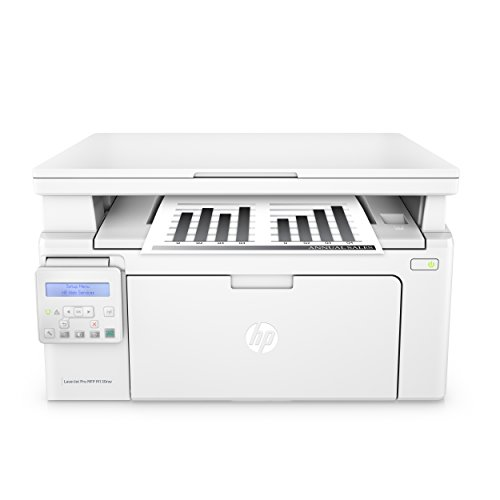 Wifi Laser Drucker (HP LaserJet Pro M130nw Laserdrucker Multifunktionsgerät (Drucker, Scanner, Kopierer, WLAN, LAN, Apple Airprint, HP ePrint, JetIntelligence, USB, 600 x 600 dpi) weiß)