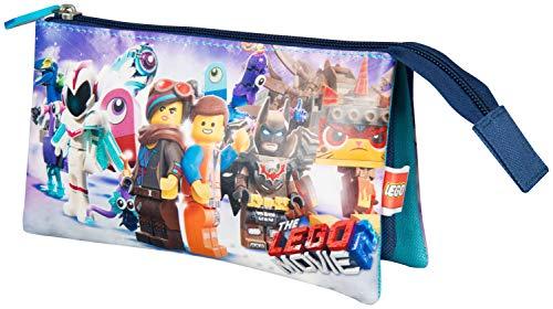 Sambro 6299 Lego - Estuche con 3 Bolsillos, Multicolor
