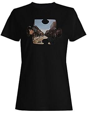 Rompecabezas, ciudad, primer, punto, perspectiva camiseta de las mujeres e810f