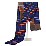 Adisaer Halstuch Herren Anzug Artificial Wolle Herbst Winter Schal Gebürstete Seide Herren Schal Warme Mode Einfachen Plaid Schal Kamel Für Damen