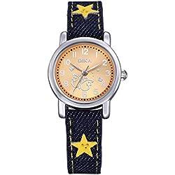 fashion children watch/Student quartz watch/Clean the watch-H