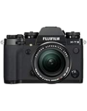 Fujifilm X-T3 Mirrorless Digital Camera with XF 18-55 mm F2.8-4 R LM OIS Lens kit with 16 Memory Card and Case (Black)