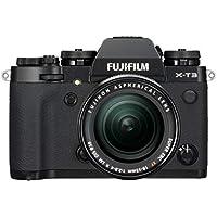 Fujifilm X-T3 Systemkamera (26,1 Megapixel, 7,6 cm (3 Zoll) Display, Touch-Display, APS-C-Sensor) Kit inkl. XF18-55mmF2.8-4 R LM OIS Objektiv schwarz
