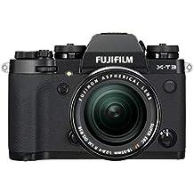 "Fujifilm X-T3 Fotocamera Mirrorless da 26 MP + XF18-55mm F2.8-4 R LM OIS, Sensore X-Trans CMOS 4 APS-C, Filmati 4K 60p 10bit, Mirino EVF 3.69 MP, Schermo LCD 3"" Touch Orientabile, Nero/Argento"