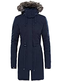 The North Face W Zaneck Parka, Mujer, Urban Navy, M