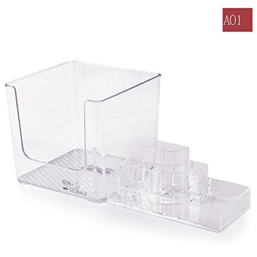 Acryl desktop kosmetik aufbewahrungsbox transparente maske lippenstift lagerung kunststoff trompete schublade finishing box , #7 7 Kunststoff Schubladen