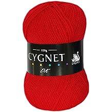 Cygnet DK 1206 - Red (Wool)