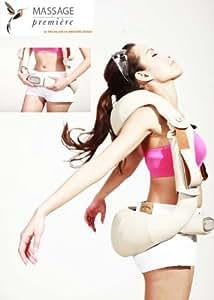 MASSAGE-première ® MP1003 - Baudrier de Massage Dos, Cou, Pectoraux - Chauffant - 36 programmes