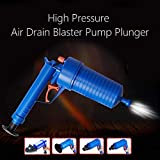 BucketList New High Pressure Toilet Floor Drain Cansation Air Power Plunger Blaster Pump