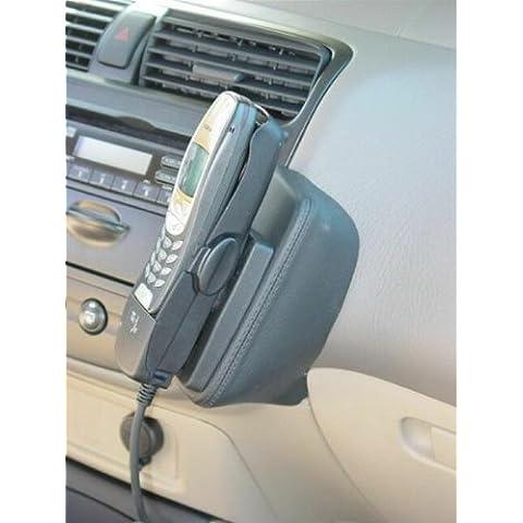 KUDA console per telefono per Honda Civic EX/DX/LX 2 e 4 pezzi (USA) in vera pelle Nero