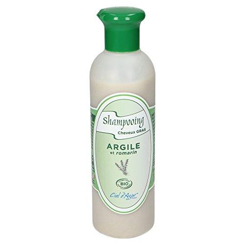 CIEL D'AZUR Shampooing Cheveux Gras Argile et Romarin
