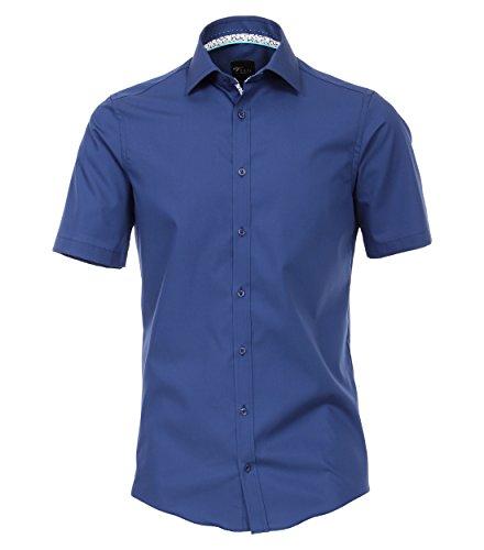 Venti Herren Businesshemd Hemd, Blau (Marine 101), 44