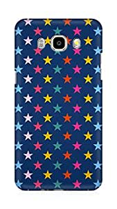 Amez designer printed 3d premium high quality back case cover for Samsung Galaxy J5 - 6 (New 2016 Edition) (Stars colorful)