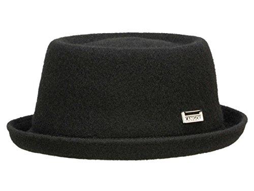 Kangol Chapeau Pork Pie Wool Mowbray Unisex - Noir