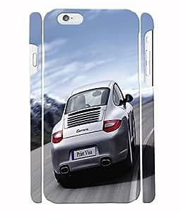 Fuson 3D Printed Car Designer Back Case Cover for Apple iPhone 6 - D579