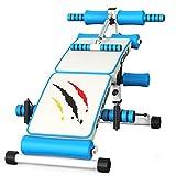 Lxn Déclin en Forme d'arc réglable S'asseoir sur Le Banc Crunch Board Exercice Fitness Workout, équipement de Fitness Multifonctionnel (Pliage et Coup de Pied)