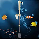 Electric Aquarium Gravel Cleaner Water Filter Washer Vacuum Syphon Siphon Water Pump For Fish Tank Aquarium Accessories