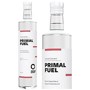 PRIMAL FUEL C8 Öl in Glasflasche | Reines C8 | 100% Caprylsäure | Für körperliche & mentale Leistung