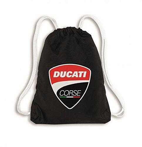 Ducati Corse, sacchetto da ginnastica, zaino, nero
