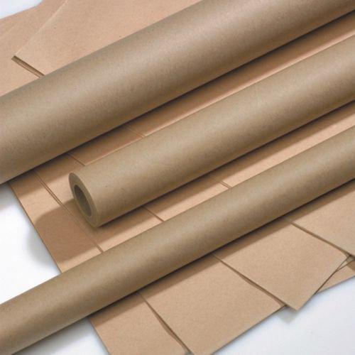 Packpapier 5 m x 70 cm braun auf Rolle, 1 Rolle