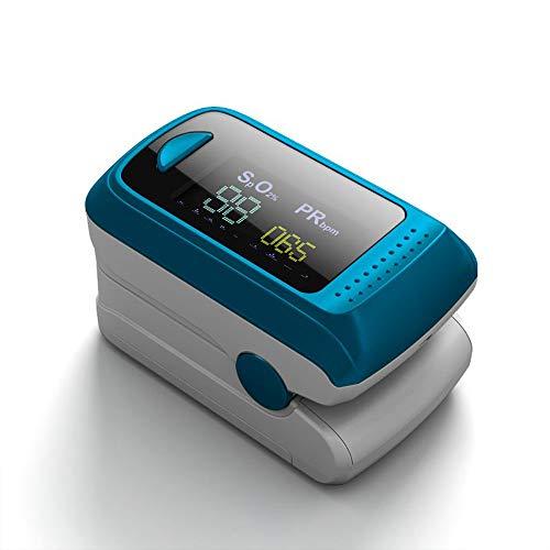 ZQ Finger Clip Pulsoximeter Herzschlag Pulsmesser Sauerstoffsättigungsdetektor (5,7 * 3,1 * 3,2 cm / 2,25 * 1,22 * 1,26 Zoll)