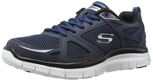 Skechers Flex AdvantageFirst Team, Sneakers basses homme Bleu - Bleu marine