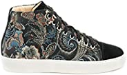 Floral Fantasy High-Top Sneakers