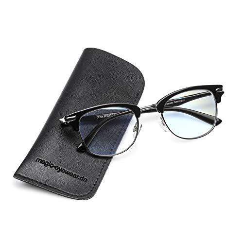 Computerbrille, Lesebrille, Gleitsichtbrille +2,50dpt