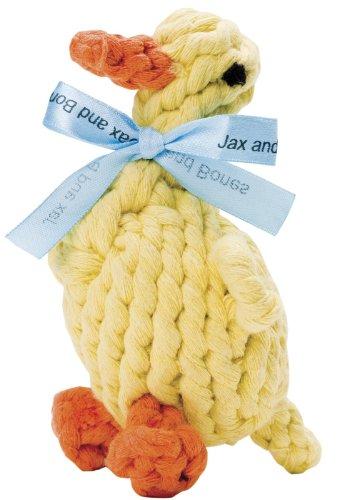 jax-and-bones-good-karma-rope-toys-daisy-the-duck-small-by-jax-bones