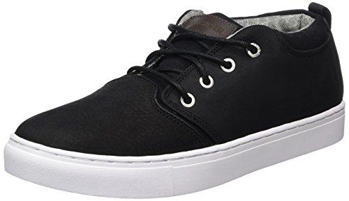Quiksilver Herren Griffin Sneaker, Schwarz (Black/white), 44 EU (10 UK)