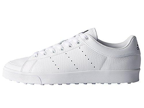 adidas Herren Adicross Classic Golfschuhe, Weiß (White F33779), 44 2/3 EU